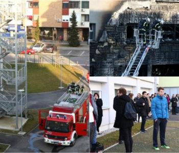 JEDAN STUDENT HOSPITALIZIRAN, OZLIJEĐENOJ PROLAZNICI PRIJETI AMPUTACIJA NOGE: U požaru studentskog doma izgorjelo 12 soba