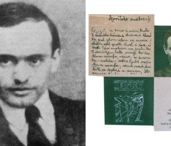 Otvoren natječaj za godišnju nagradu 'Antun Branko Šimić'