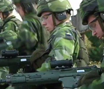 Švedska uvodi obvezni vojni rok