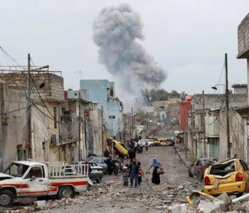 RATNA DRAMA FOTOGRAFIJE IZ MOSULA LEDE KRV U ŽILAMA U tijeku je najkrvavija bitka u grotlu Islamske države, milijunski grad na rubu je smrti, zavladao je očaj
