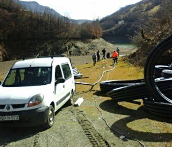 Nastavak izgradnje vodovoda u naseljima Donje Rame
