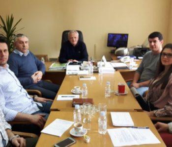 Održan radni sastanak kod načelnika Općine Prozor-Rama