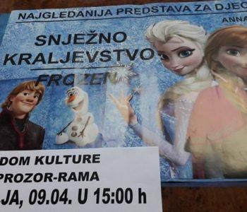 "Hit predstava za djecu ""Snježno Kraljevstvo- Frozen"""