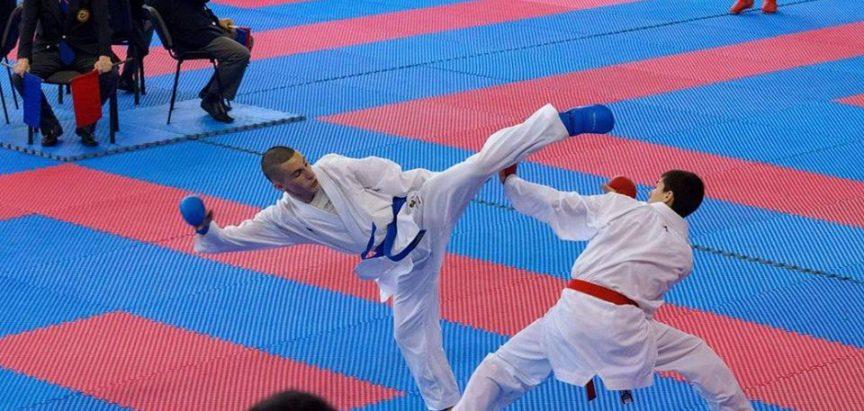 Ivan Križanac nastupa na Balkanskom prvenstvu u karateu
