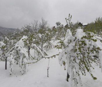 S petka na subotu ponovno snijeg