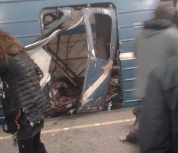Najmanje 10 ljudi poginulo u eksplozijama u metrou u Sankt Peterburgu