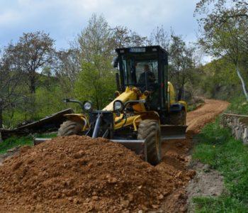 Foto: Nastavak izgradnje puta kroz Ljubunce