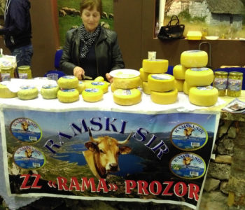 Ramski sir kao prepoznatljiv domaći brand na međunarodnom sajmu u Mostaru