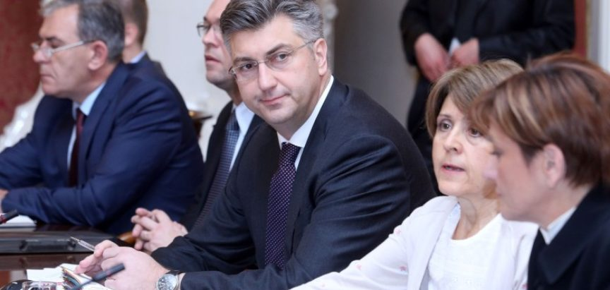 DRAMA U VLADI RH: Plenković smijenio tri ministra MOST-a!
