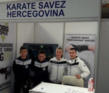 KK Empi  na sajmu sporta i zdravlja u Međugorju