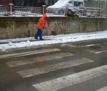 Čišćenje snijega u Prozoru