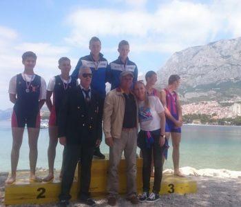 Foto: Ramski veslači donijeli medalje iz Makarske