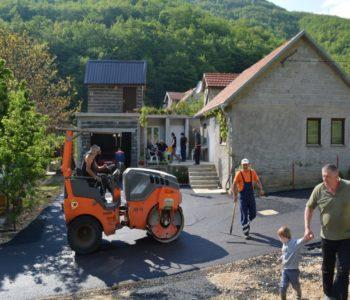 Foto: Općina Prozor-Rama nastavlja infrastrukturne radove