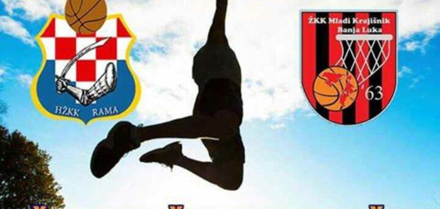 Ramske košarkašice nastavljaju državno prvenstvo