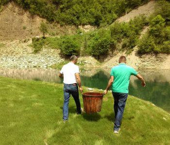 Poribljavanje Jablaničkog jezera