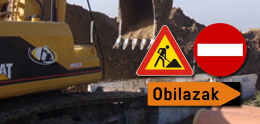 Obavijest: Regulacija prometa posebnim režimom zbog izgradnje vodovoda