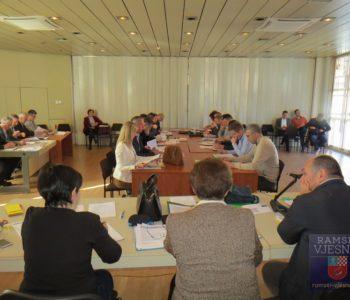Najava osme redovne sjednice OV-a Prozor-Rama