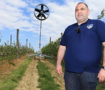 Stroj protiv mraza spašava voćnjake i usjeve