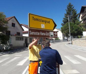 Foto: Postavljeni turistički znakovi