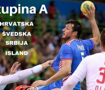 RUKOMETNI EURO 2018.: Hrvatska je u najtežoj grupi sa Srbijom!