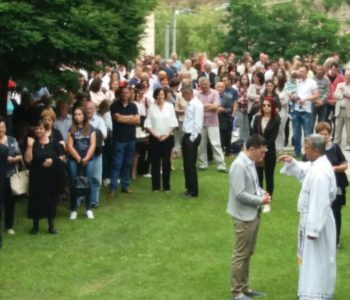 Foto: Vanjska proslava Sv. Ante na Gračacu