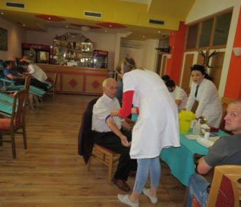 FOTO: Akcija dobrovoljnog darivanja krvi: Prikupljena 31 doza