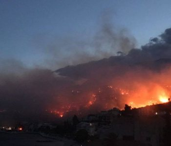 Strašan požar kod Podgore: Ceste blokirane, nema struje…