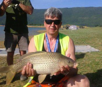 Na Ramskom jezeru završeno 2. kolo u lovu šarana i amura