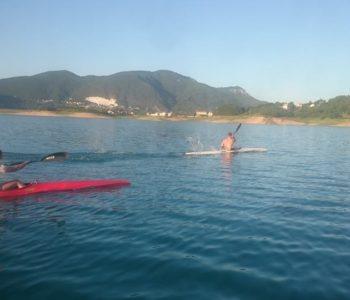 Hrvatska kajakaška reprezentacija započela s pripremama na Ramskom jezeru