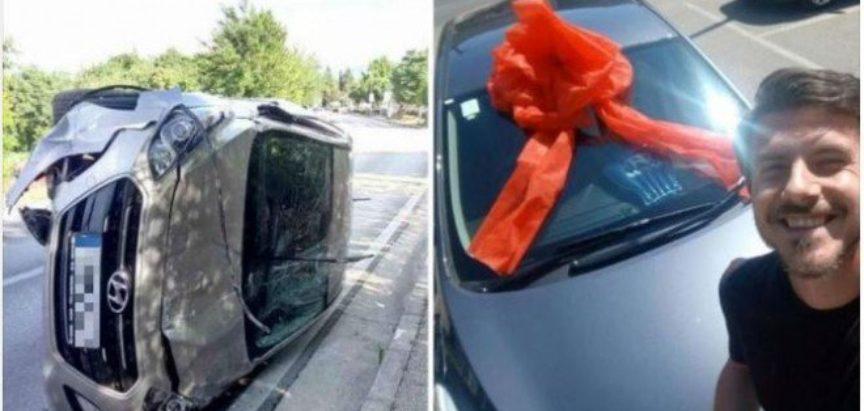 Mostar: Slupao auto u nesreći, kolege mu kupile novi