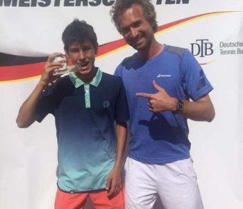 Tenisač ramskih korjena postao državni prvak Njemačke