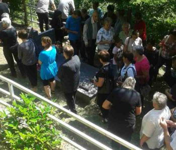 Molitva u zagovor na mučenikovu grobu