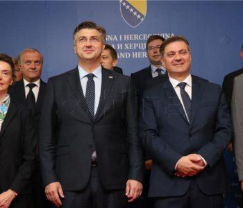 Plenković kaže da su ustavne promjene unutarnja stvar BiH