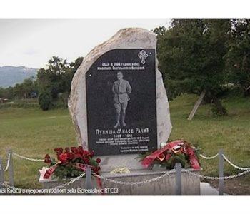 Crnogorci podigli spomen ploču Puniši Račiću, ubojici Stjepana Radića