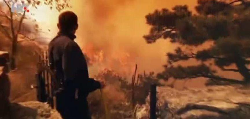 Kod Podstrane vatrogasci su se do 5 sati borili s vatrom