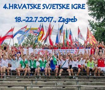 Ramski sportaši sudjeluju na 4. Hrvatskim svjetskim igrama u Zagrebu