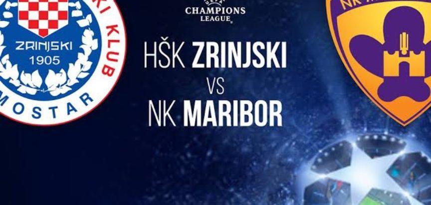 Marijan Ćavar u sastavu Zrinjskog u 2.pretkolu Lige prvaka