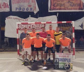 """Pobjednici MNT """"Uskoplje 2017"""" ekipa Caffe Stratus Pama"""