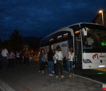 Foto: Maturanti Srednje škole Prozor otputovali na maturalno putovanje