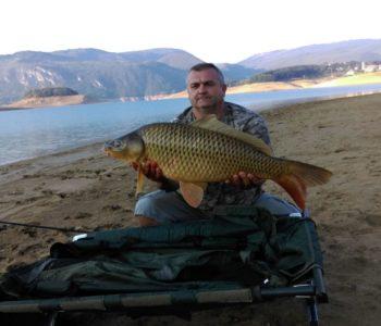 """Foto: Na Ramskom jezeru održano Prvenstvo SRS F BiH u disciplini """"lov šarana i amura"""""""