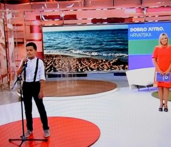 Slavuj iz Rame, Marko Bošnjak u HTV-ovoj emisiji Dobro jutro Hrvatska
