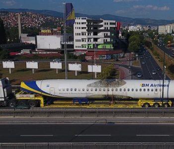 "Posljednji zrakoplov BH Airlinesa ""odletio"" na kamionu do Njemačke"
