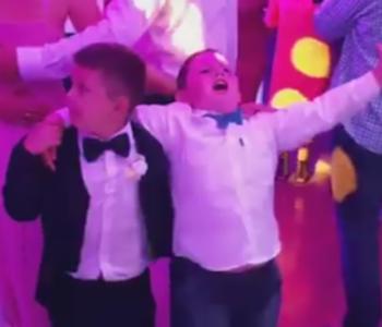 Dječaci koji su 'ukrali' svadbu: 'Jako su sretni, a mi ponosni'