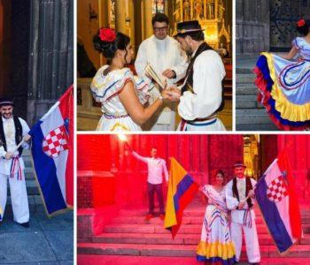 Ja navijam za Kolumbiju, ona za Hrvatsku, zajedno za Osijek