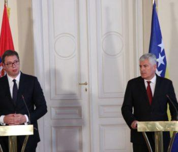 Čović-Vučić: Dolazi novo vrijeme okrenuto budućnosti
