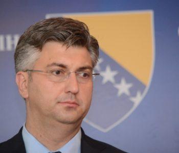 Plenković u subotu u posjetu Bosni i Hercegovini