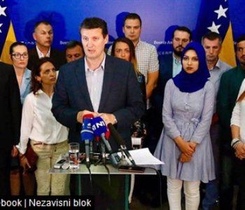U Sarajevu osnovan Nezavisni blok
