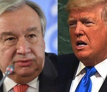 Trump prijeti uništenjem Sjeverne Koreje – Guterres ga 'bocnuo'
