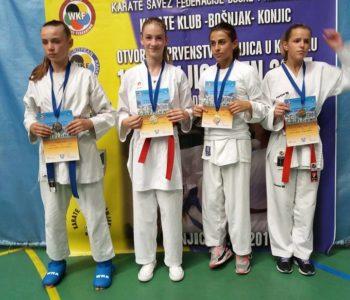 KK Empi 12 medalja u Konjicu