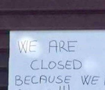 IMAJU JAKO DOBAR RAZLOG Kafić u Korčuli zatvoren do nedjelje, a poruka objašnjenja postala je hit na internetu